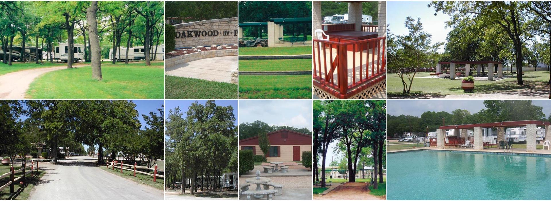 Oakwood RV Resort | Fredericksburg RV Resort | TX 78624